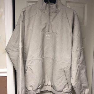 Adidas windbreaker ¼ zip pullover